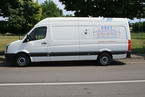 furgone consegna giornali