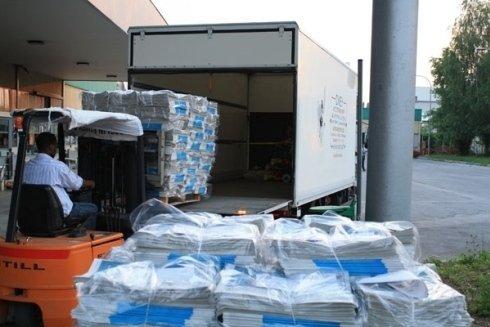 magazzino di carico