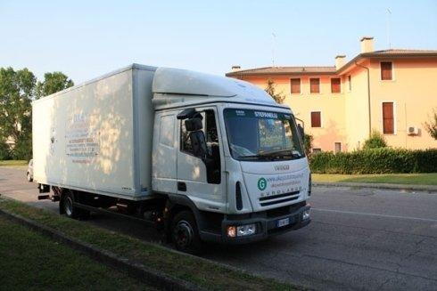 camion per consegne