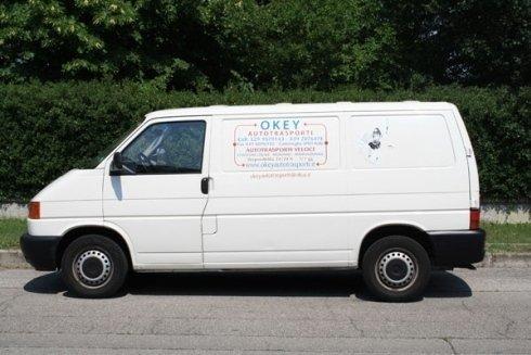 furgone per trasporto a collettame