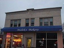 Commercial Awnings – Malek's Bakery
