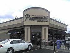 Commercial Awning – Peppermill restaurant