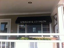 Commercial Awnings - Sorellas & Co Salon