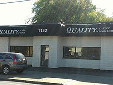 Commercial Awning work