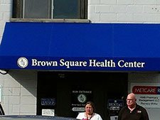 Commercial Awning – Brown Square Health Center