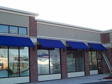 Commercial Awnings – completed project