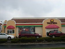 Commercial Awnings – Taco Bell