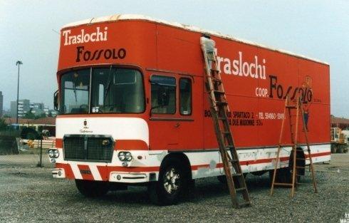 Fiat 643 Autodromo nel 1993