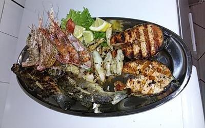 Grigliate miste pesce