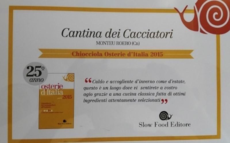 certificato ristorante