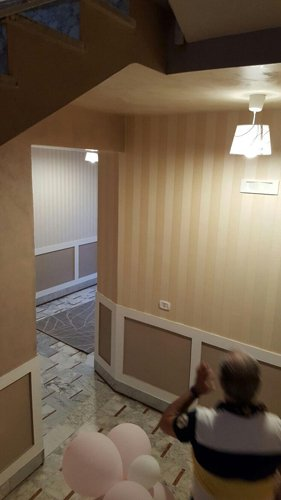 tinteggiatura e decorazioni di pareti
