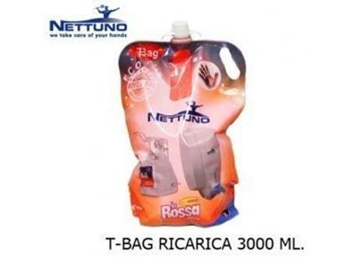 Crema lavamani T-Bag ricarica La Rossa