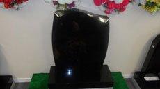 Elegant headstone