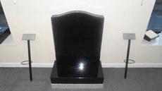 Headstone finish