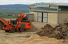 Centro recupero rifiuti