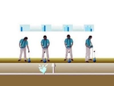 Ricerca perdite di acqua con mezzi acustici