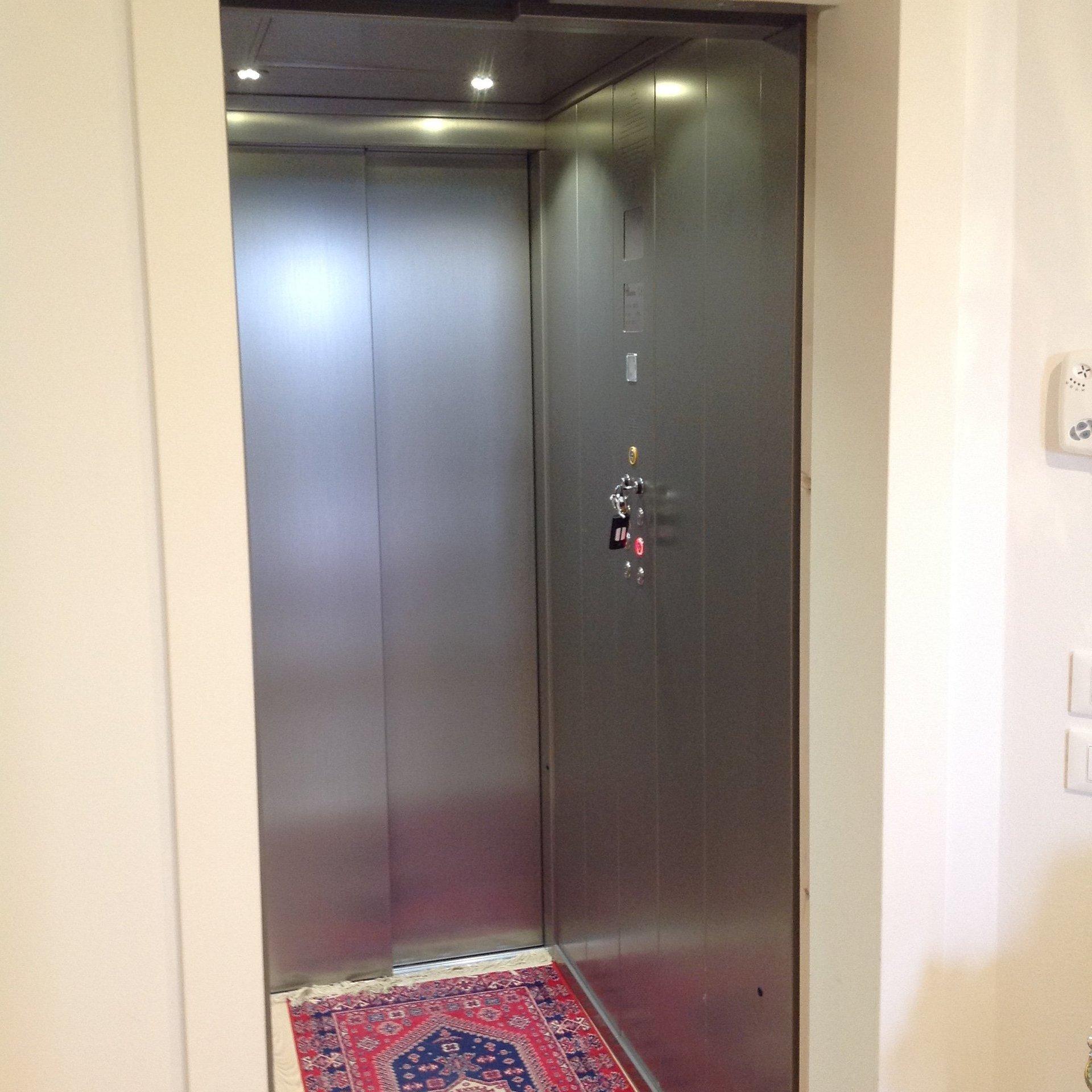 ascensore di un edificio