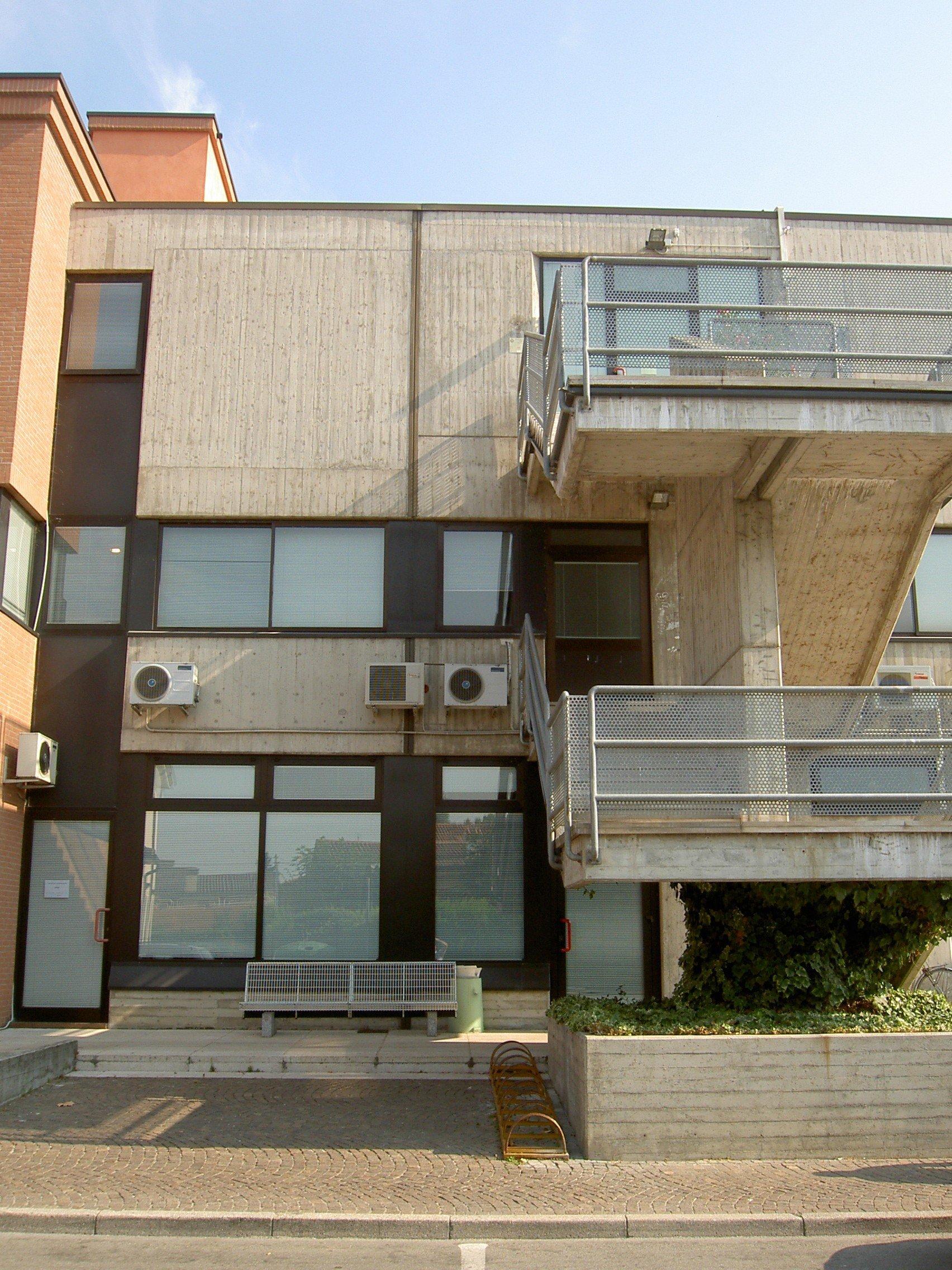 panoramica di un edificio
