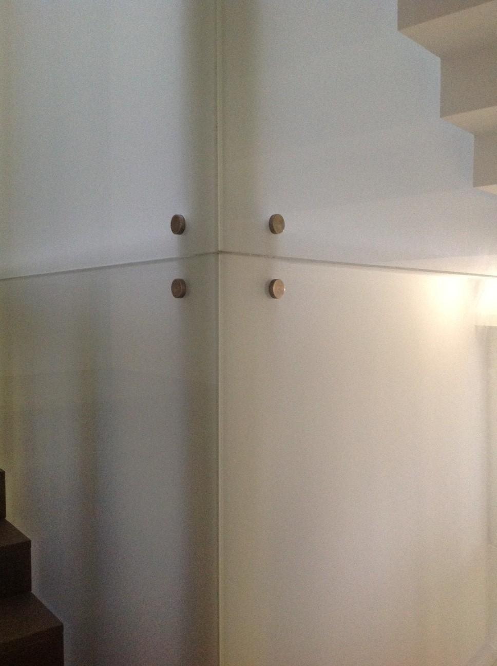 pareti di ascensore in vetro