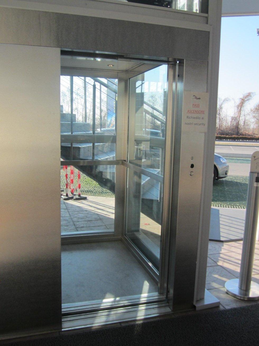 vetro antisfondamento mestrino pd vergati ascensori