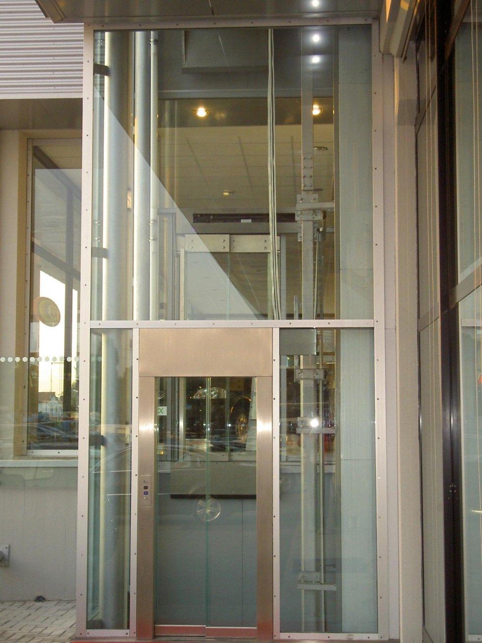 ascensore panoramico-vista esterna