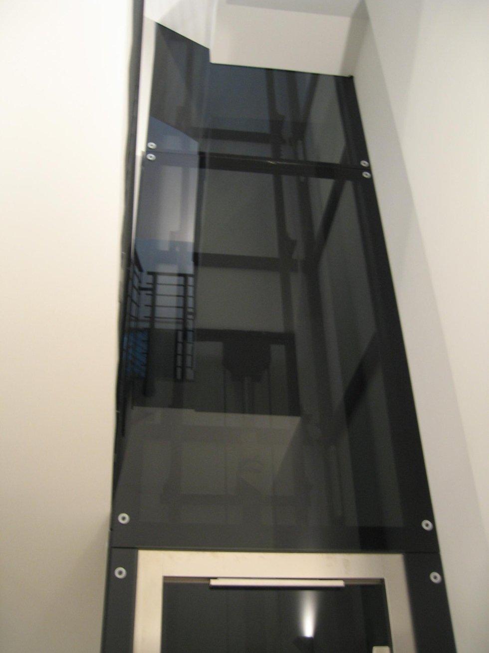 panoramiche per interno manuali con vetro fumè
