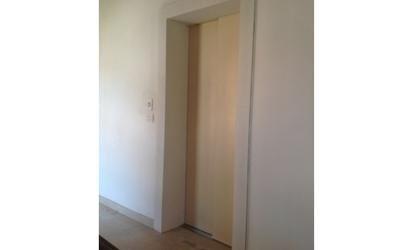 ascensore con parete-vista laterale