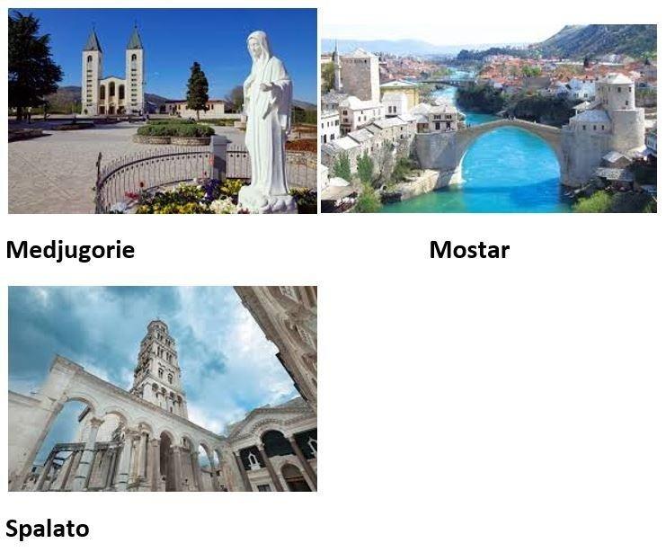 Viaggio Medjugorie - Mostar - Spalato