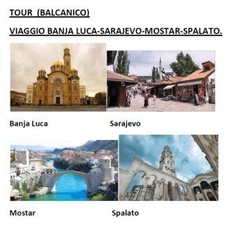 VIAGGIO BANJA LUCA, SARAJEVO, MOSTAR, SPALATO