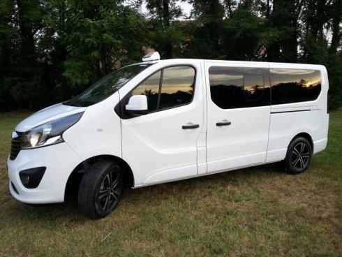 Opel Vivaro combi passo lungo 2