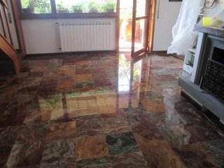 Levigatura lucidatura a piombo pavimenti in marmo