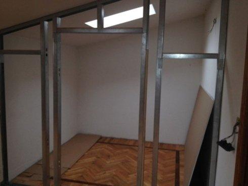 struttura cabina armadio cartongesso