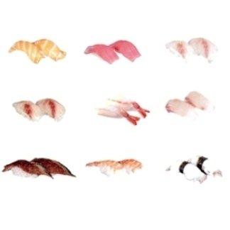 vasta gamma di nighiri sushi