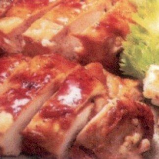 pollo alla griglia in salsa