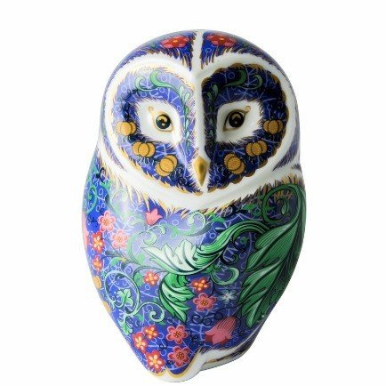 Royal Crown Derby Paperweight Perewinkle Owl