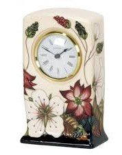 Moorcroft BRAMBLE REVISITED CLOCK