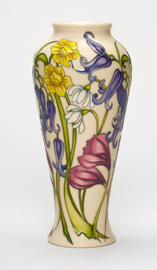 MOORCROFT SONG OF SPRING VASE
