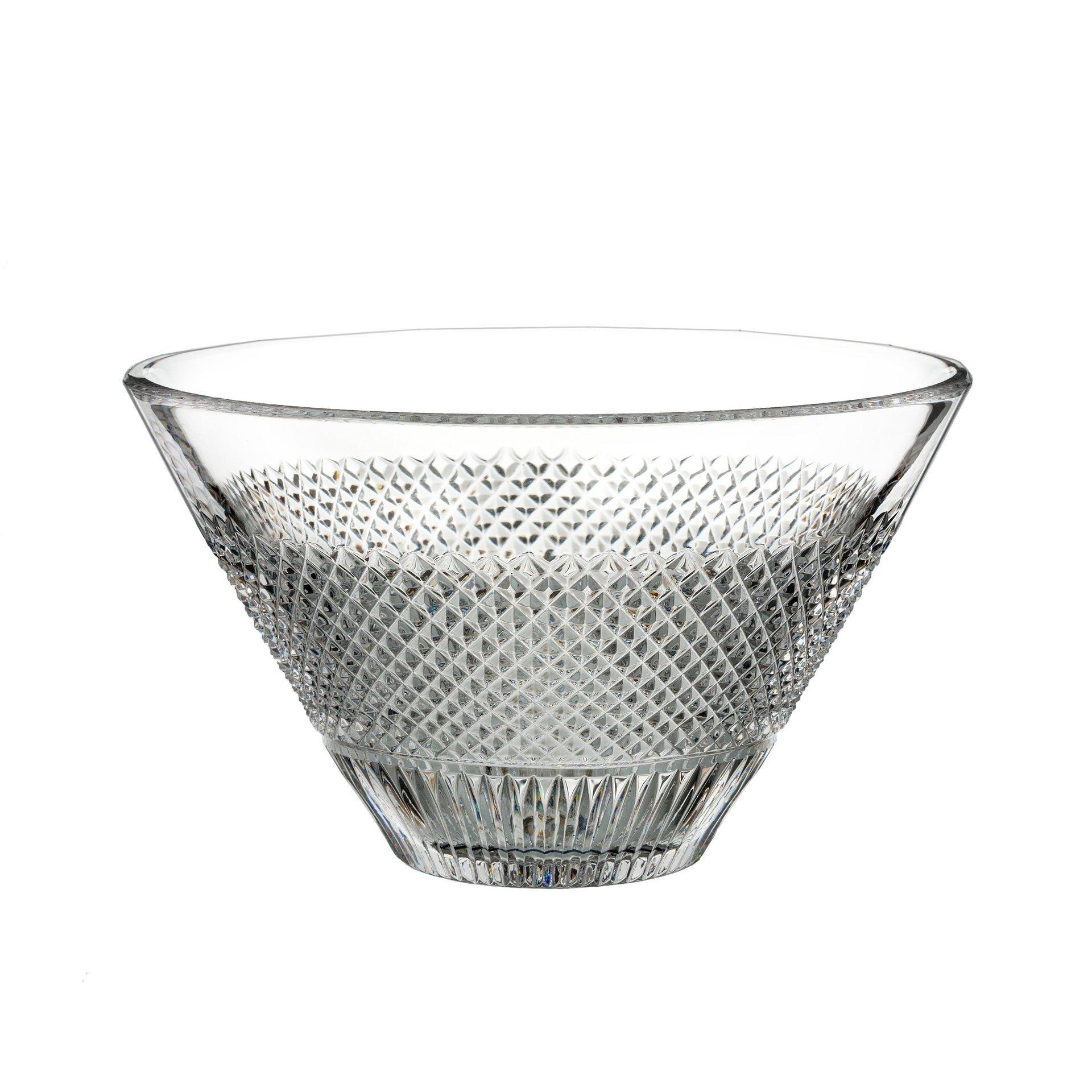Waterford Diamond Line Bowl 25cm