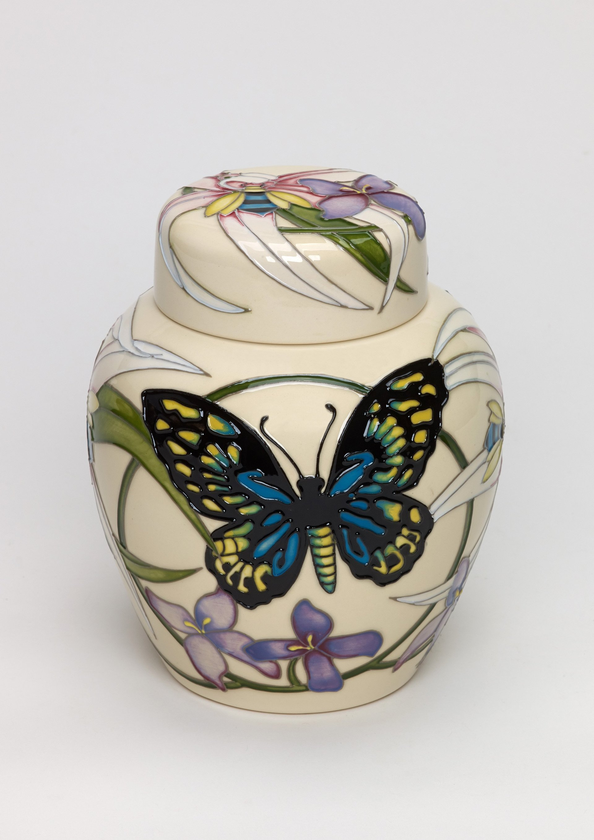 Moorcroft Icons of Australia Cairns Butterfly