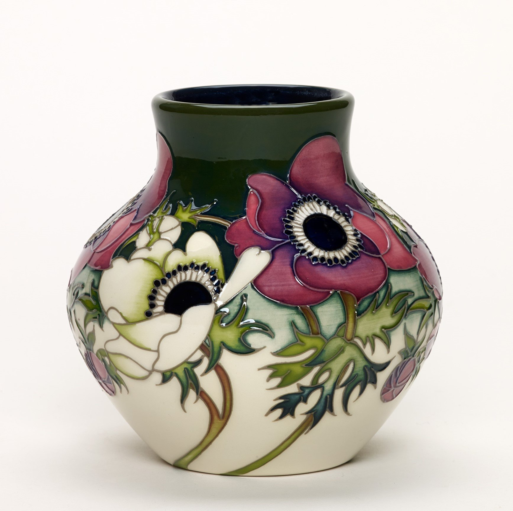 MOORCROFT HIM AND HER VASE