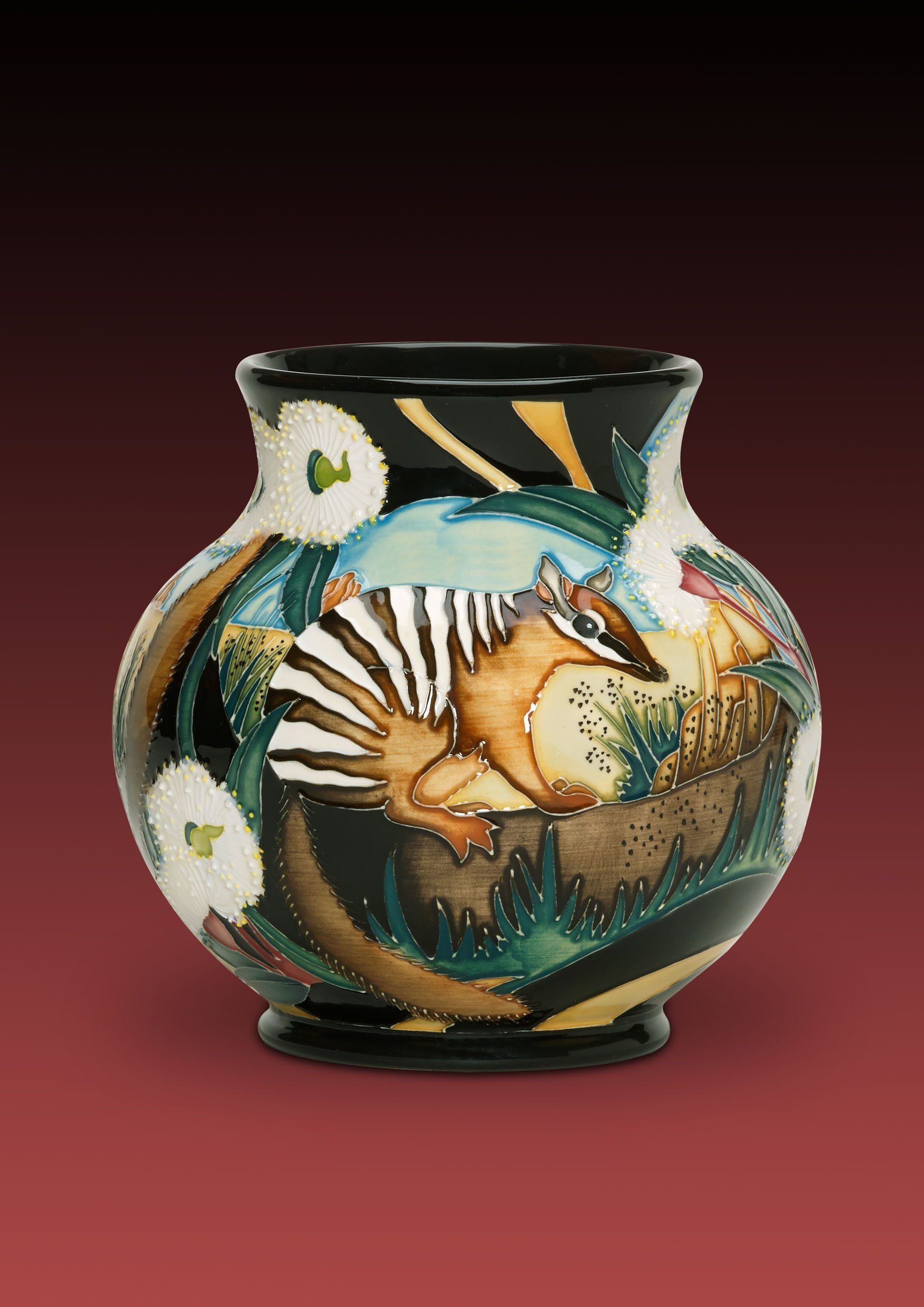 Moorcroft Icons of Australia Nimble Numbats