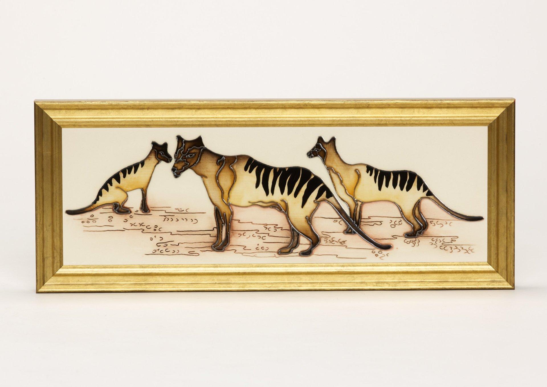 Moorcroft Icons of Australia Tasmanian Tigers