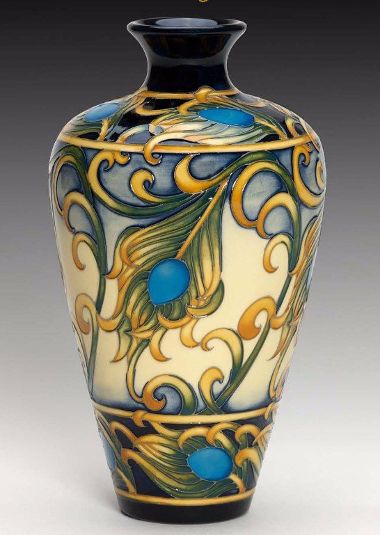 Moorcroft First Feathers Vase