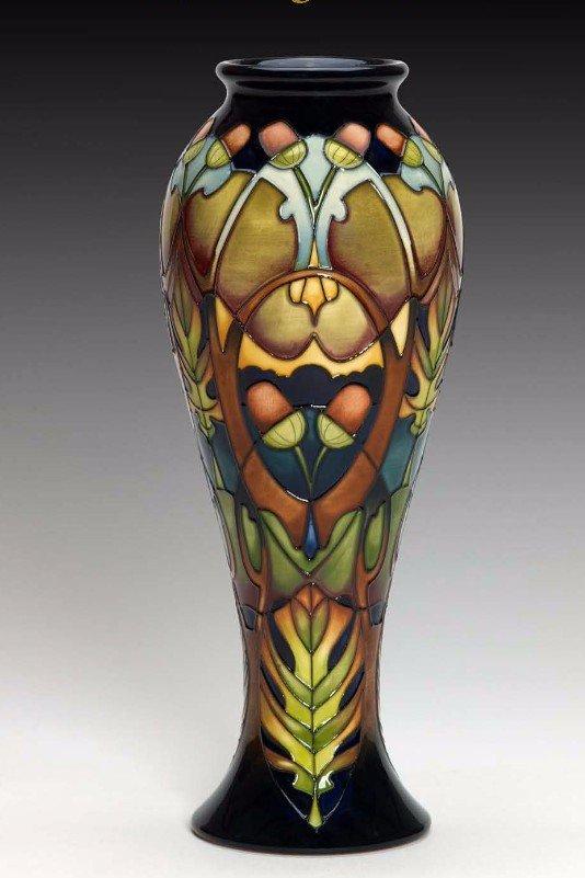 Moorcroft Oaktree Vase