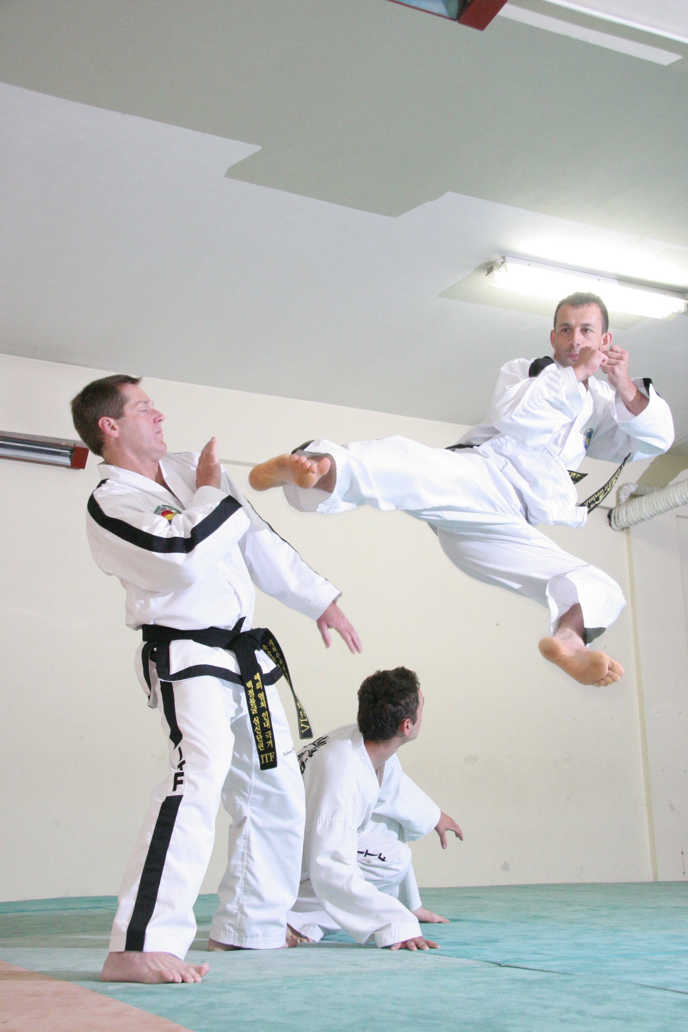 Taekwon-Do kicking