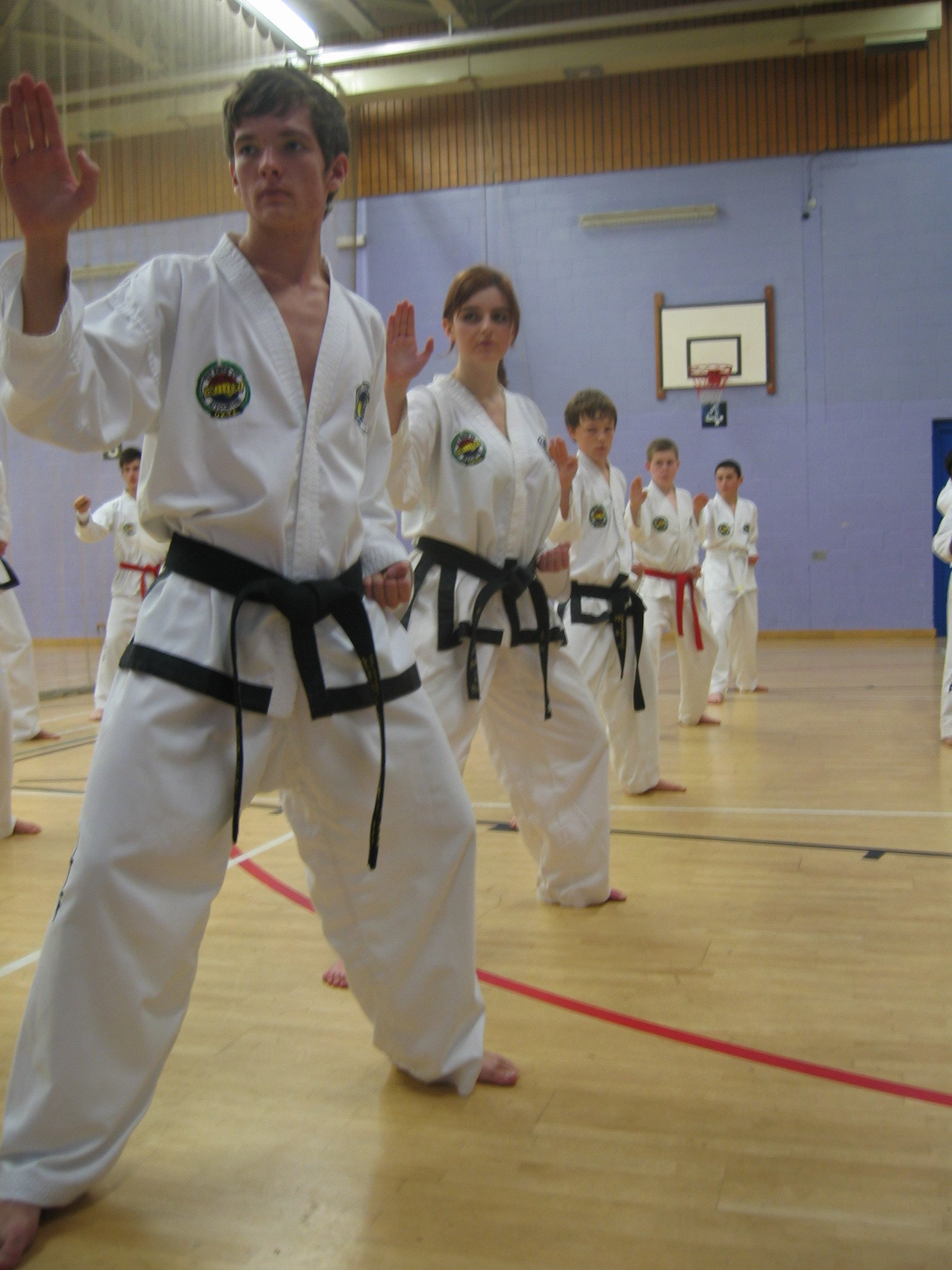 children Taekwon-Do