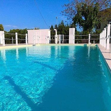 la piscina del ristorante