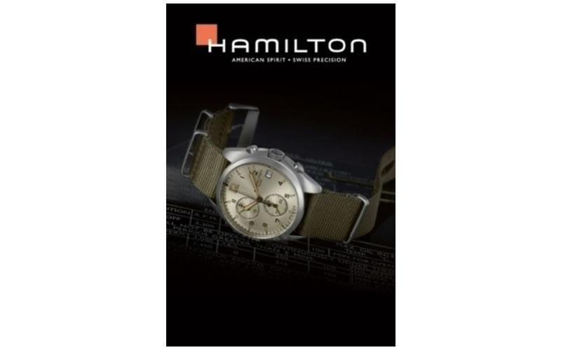 orologi stoffa hamilton