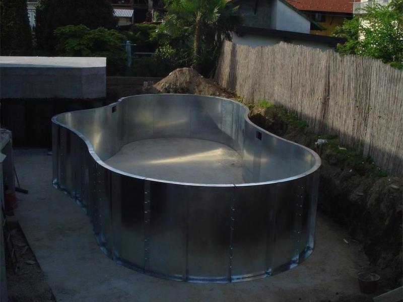 piscine con pannelli