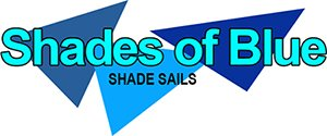shades of blue shade sails logo